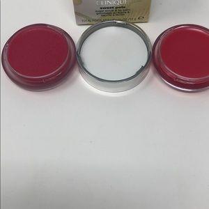 Clinique Makeup - Clinique sweet pots sugar scrub+lip balm new